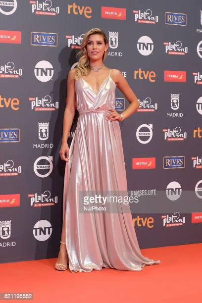Michelle Salas attends the Platino Awards 2017 photocall at the La Caja Magica on July 22 2017 in Madrid Spain