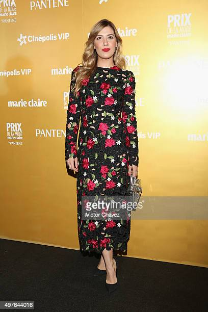 Michelle Salas attends the Prix De La Mode Marie Claire at Hotel Hyatt Campos Eliseos on November 17 2015 in Mexico City Mexico