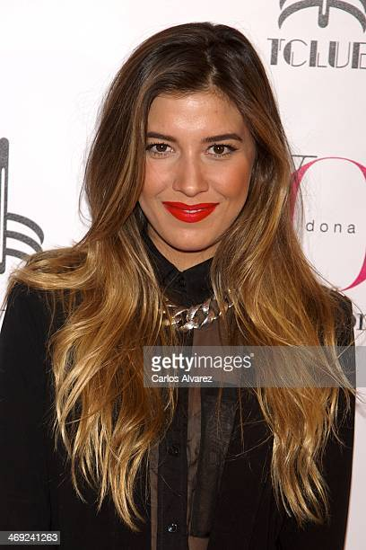 Michelle Salas attends the 'Yo Dona' magazine party at the Barcelo Theater on February 13 2014 in Madrid Spain