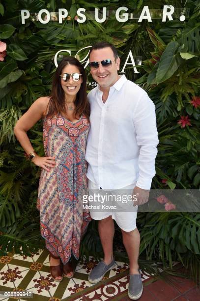 Michelle Schiller and POPSUGAR chief revenue officer Geoff Schiller attend POPSUGAR and The Council of Fashion Designers of America's Brunch with...