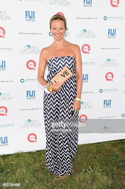 Michelle Smith attends the OCRF's 17th Annual Super Saturday Hosted By Kelly Ripa And Donna Karan on July 26 2014 in New York City