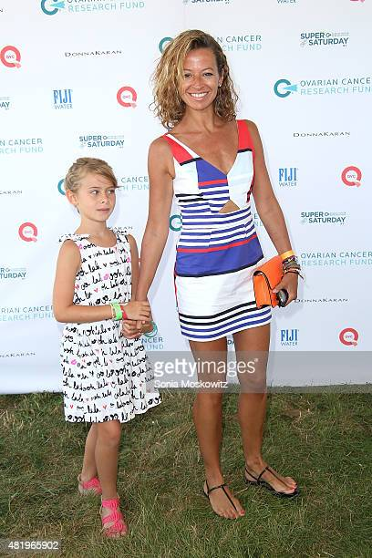 Michelle Smith attends the Ovarian Cancer Research Fund's Super Saturday NY at Nova's Ark Project on July 25 2015 in Water Mill New York