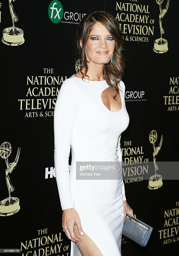 Michelle Stafford arrives at the 41st Annual Daytime Emmy Awards held at The Beverly Hilton Hotel on June 22 2014 in Beverly Hills California