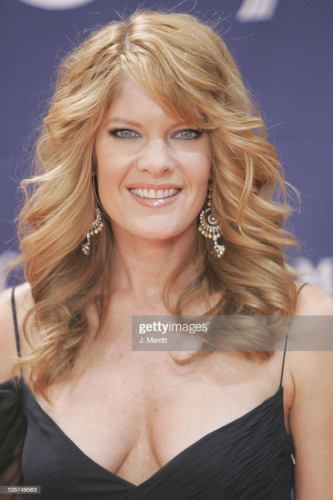Michelle Stafford during 40th Annual Academy of Country Music Awards - Orange Carpet at Mandalay Bay Resort & Casino in Las Vegas, Nevada, United States.