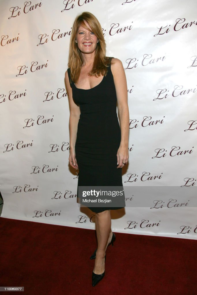 Michelle Stafford during Li Cari Spring 2007 Unveiled February 9 2007 at Diane Merrick's Boutique in Los Angeles CA United States