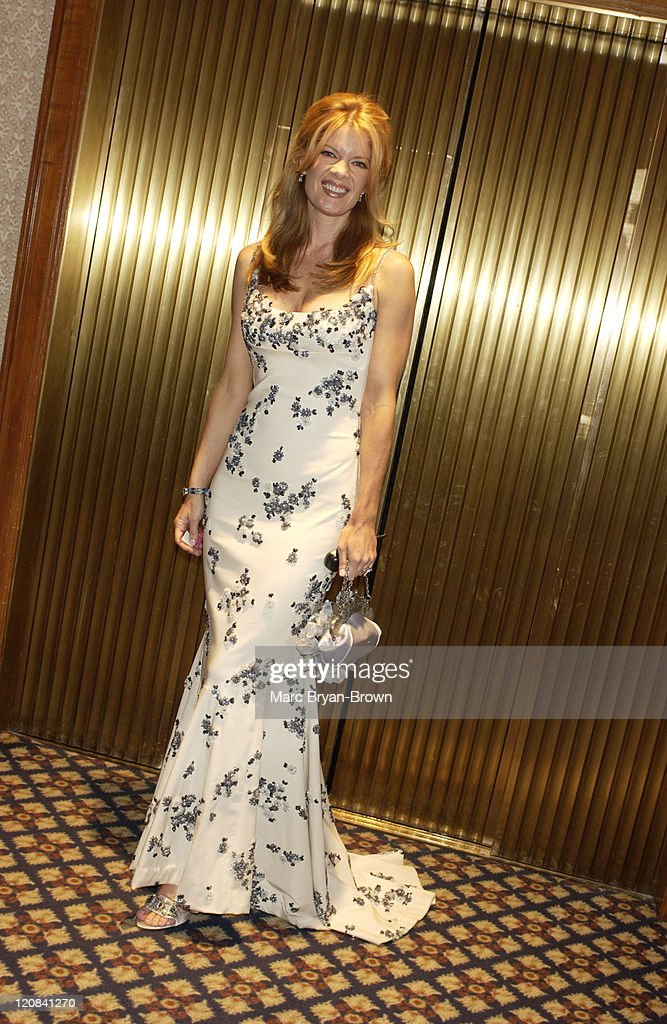 Michelle Stafford wearing Randy Rahm during 30th Annual Daytime Emmy Awards PreShow Reception at Sheraton Hotel in New York City New York United...
