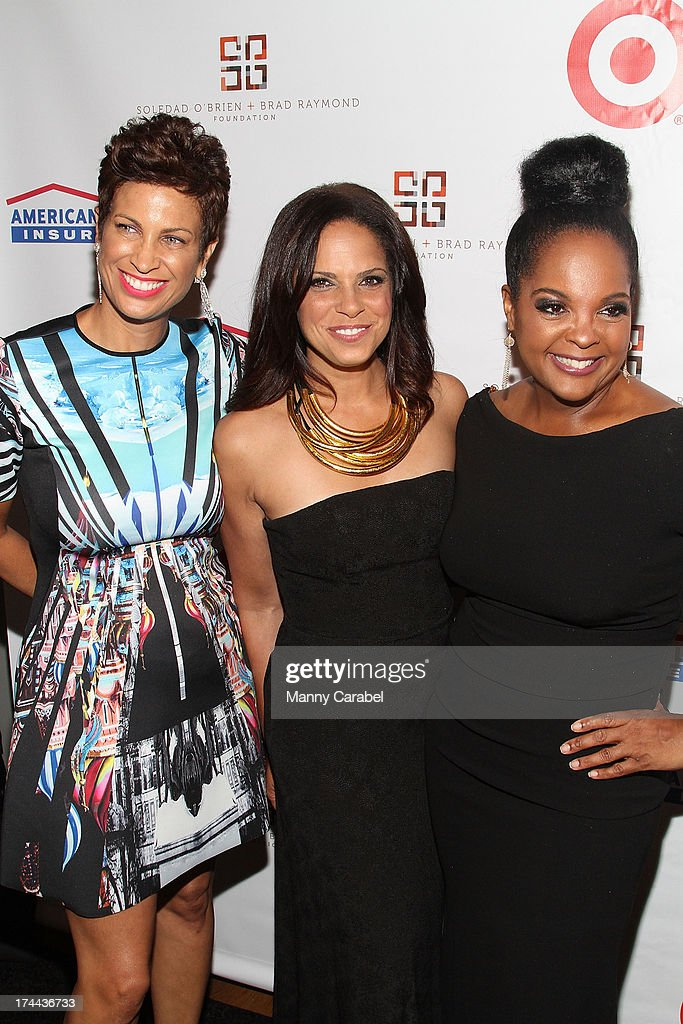 Michelle Thornton, <a gi-track='captionPersonalityLinkClicked' href=/galleries/search?phrase=Soledad+O%27Brien&family=editorial&specificpeople=223926 ng-click='$event.stopPropagation()'>Soledad O'Brien</a> and Kim Brody attend the 3rd Annual New Orleans to New York Benefit Gala at Donna Karen's Stephen Weiss Studio on July 25, 2013 in New York City.