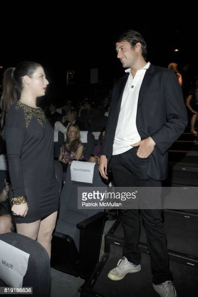 Michelle Trachtenberg and Darrell Hartman attend THE CINEMA SOCIETY 2IST host a screening of 'TWELVE' at Landmark Sunshine Cinemal on July 28 2010 in...