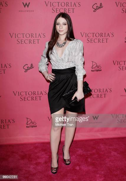 Michelle Trachtenberg arrives to Victoria's Secret 5th Annual 'What Is Sexy' Bombshell edition party held at Drai's Hollywood on May 11 2010 in...
