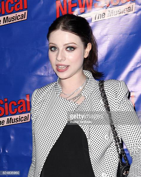 Michelle Trachtenberg attending the Opening Night Performance of Perez Hilton in 'NEWSical The Musical' at the Kirk Theatre in New York City on...