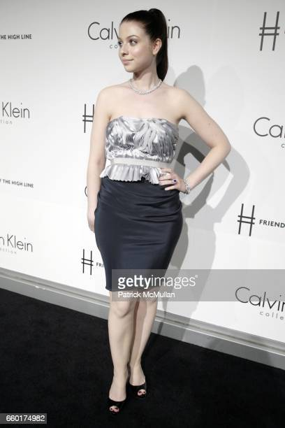 Michelle Trachtenberg attends Calvin Klein Collection Presents 'First Party on the Highline' at The High Line on June 15 2009 in New York City