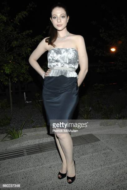 Michelle Trachtenberg attends Calvin Klein Collection Presents 'First Party on the High Line' at The High Line on June 15 2009 in New York City