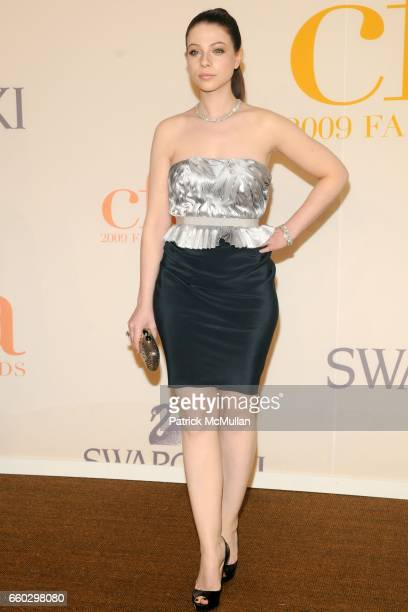 Michelle Trachtenberg attends CFDA AWARDS 2009 ARRIVALS at Alice Tully Hall on June 15 2009 in New York City