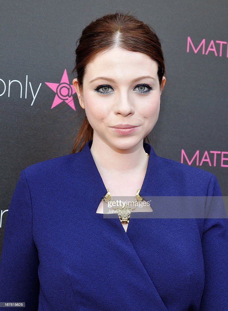 Michelle Trachtenberg attends Madonna's 'Fashion Evolution' Pop-Up Exhibit, hosted by Material Girl at Macy's Westfield Century City on April 25, 2013 in Century City, California.