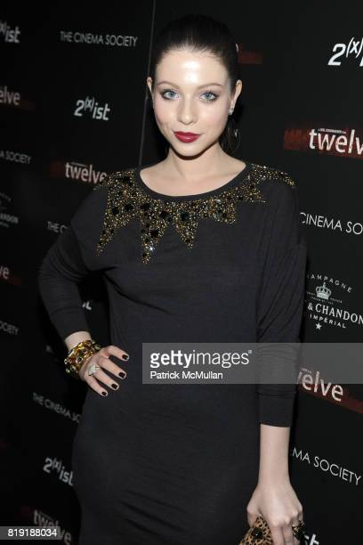 Michelle Trachtenberg attends THE CINEMA SOCIETY 2IST host a screening of 'TWELVE' at Landmark Sunshine Cinema on July 28 2010 in New York City