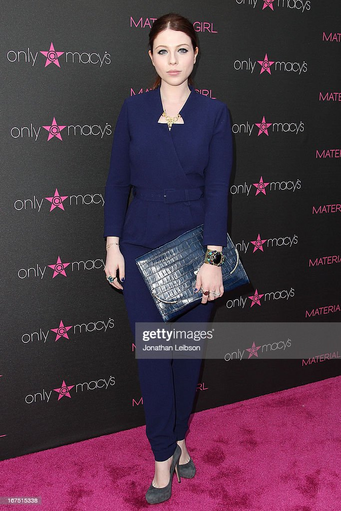 Michelle Trachtenberg attends the Madonna's Fashion Evolution Pop-Up Exhibition In Conjunction With The Pop Star's 'Material Girl' Clothing Line At Macy's at Macy's Westfield Century City on April 25, 2013 in Century City, California.