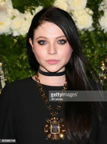 Michelle Trachtenberg attends the Maison StGermain LA Debut hosted by Lily Kwong on August 02 2017 in Los Angeles California