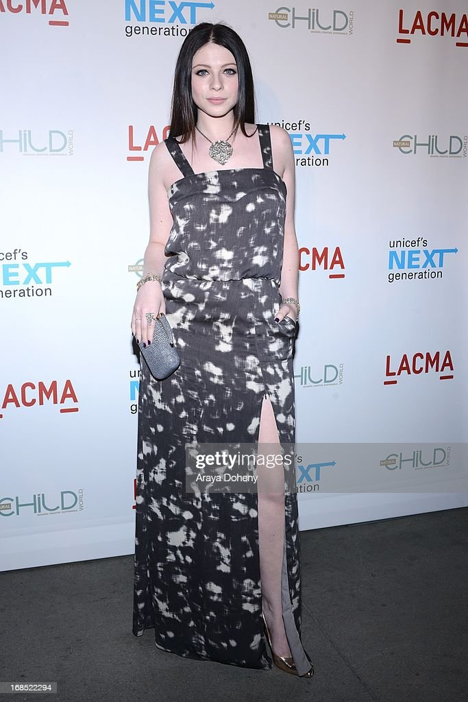 Michelle Trachtenberg attends the UNICEF NextGen Los Angeles launch at LACMA on May 9, 2013 in Los Angeles, California.