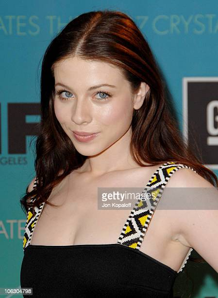 Michelle Trachtenberg during 2007 Women in Film Crystal Lucy Awards Arrivals at The Beverly Hilton Hotel in Beverly Hills California United States