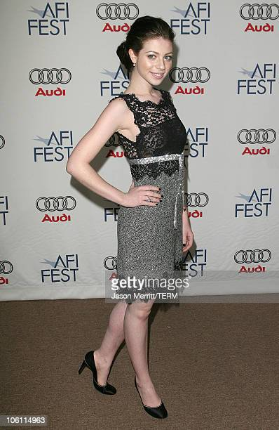 Michelle Trachtenberg during AFI Film Festival 'Beautiful Ohio' Premiere Arrivals at Arclight in Hollywood California United States