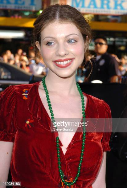 Michelle Trachtenberg during 'Batman Begins' Los Angeles Premiere Arrivals at Chinese Theatre in Los Angeles California United States