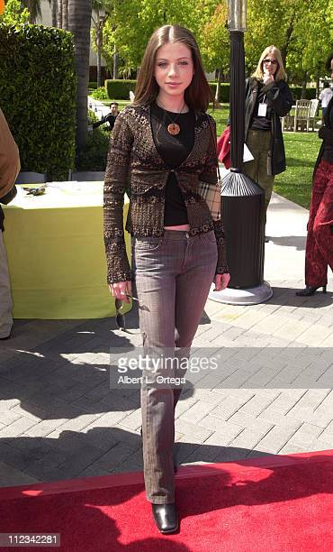 Michelle Trachtenberg during 'Clockstoppers' Premiere at Paramount Studios in Hollywood California United States