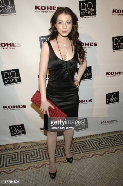 Michelle Trachtenberg during 'Do Something' BRICK Awards Sponsered by Kohl's at Capitale in New York City New York United States
