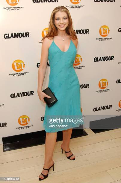 Michelle Trachtenberg during Entertainment Tonight Glamour Magazine Celebrate The 55th Annual Emmy Awards at Mondrian Hotel in West Hollywood...