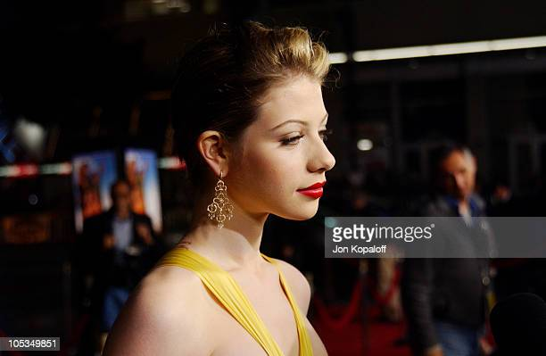 Michelle Trachtenberg during 'Eurotrip' Los Angeles Premiere Red Carpet Arrivals at Grauman's Chinese Theatre in Hollywood California United States