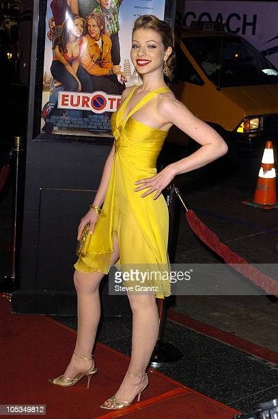 Michelle Trachtenberg during 'Eurotrip' Premiere Arrivals at Grauman's Chinese Theatre in Hollywood California United States