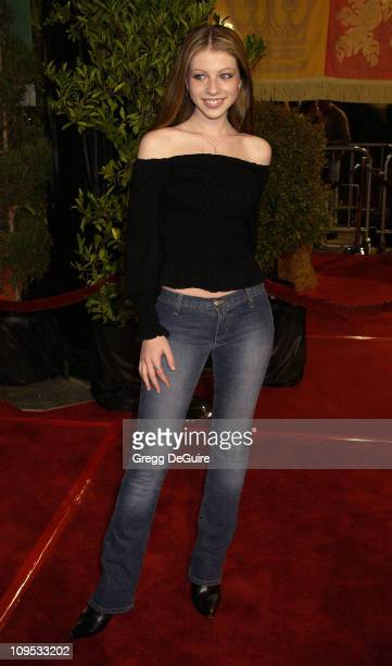 Michelle Trachtenberg during 'Harry Potter and the Chamber of Secrets' Premiere Los Angeles Arrivals at Mann Village Theatre in Westwood California...