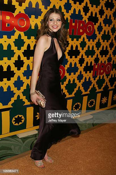 Michelle Trachtenberg during HBO Post Award Reception Celebrating The 62nd Annual Golden Globe Awards Arrivals at Griff's Restaurant in Beverly Hills...