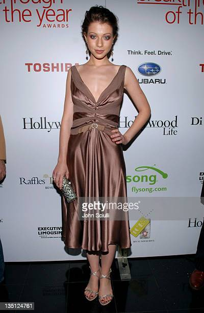 Michelle Trachtenberg during Hollywood Life Magazine's 5th Annual Breakthrough of the Year Awards Red Carpet at Henry Fonda Theatre in Hollywood...