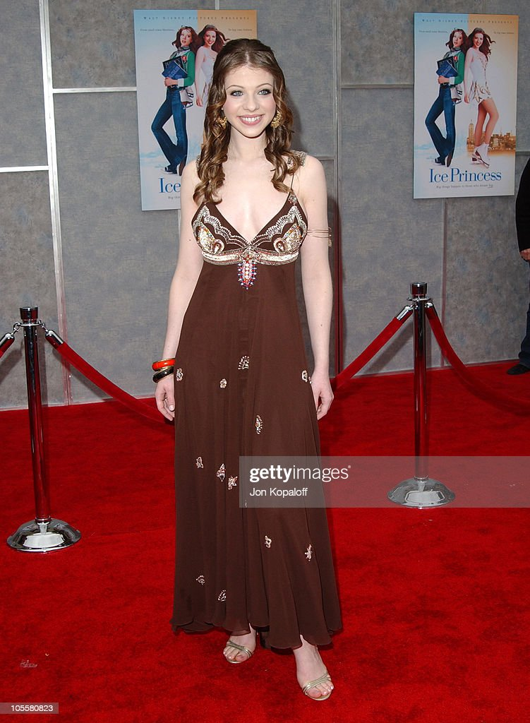 Michelle Trachtenberg during 'Ice Princess' Los Angeles Premiere Arrivals at El Capitan Theater in Hollywood California United States