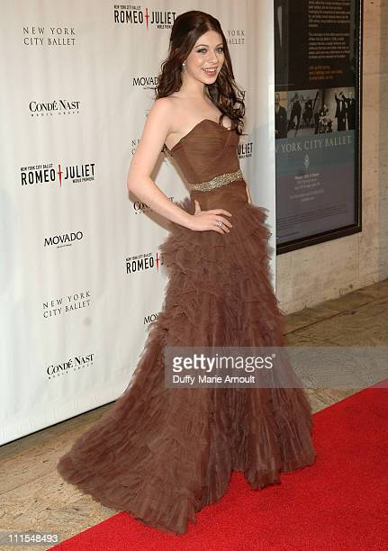 Michelle Trachtenberg during New York City Ballet Presents the World Premiere of Peter Martins' FullLength Production of Romeo Juliet at New York...