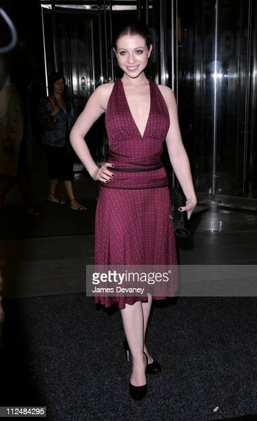 Michelle Trachtenberg during Olympus Fashion Week Spring 2007 Calvin Klein After Party Arrivals at 7 World Trade Center in New York City New York...