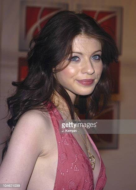 Michelle Trachtenberg during Saturn Rocks Times Square Inside Arrivals at Hard Rock Cafe New York in New York City New York United States