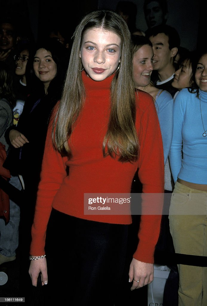 Michelle Trachtenberg during WB Network All Star Party at Il Fornaio Restaurant in Pasadena, California, United States.