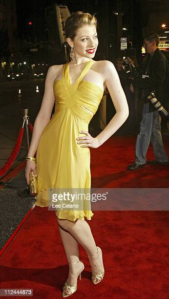 Michelle Trachtenberg during World Premiere of 'Eurotrip' Red Carpet at Manns Grauman Chinese Theatre in Hollywood California United States