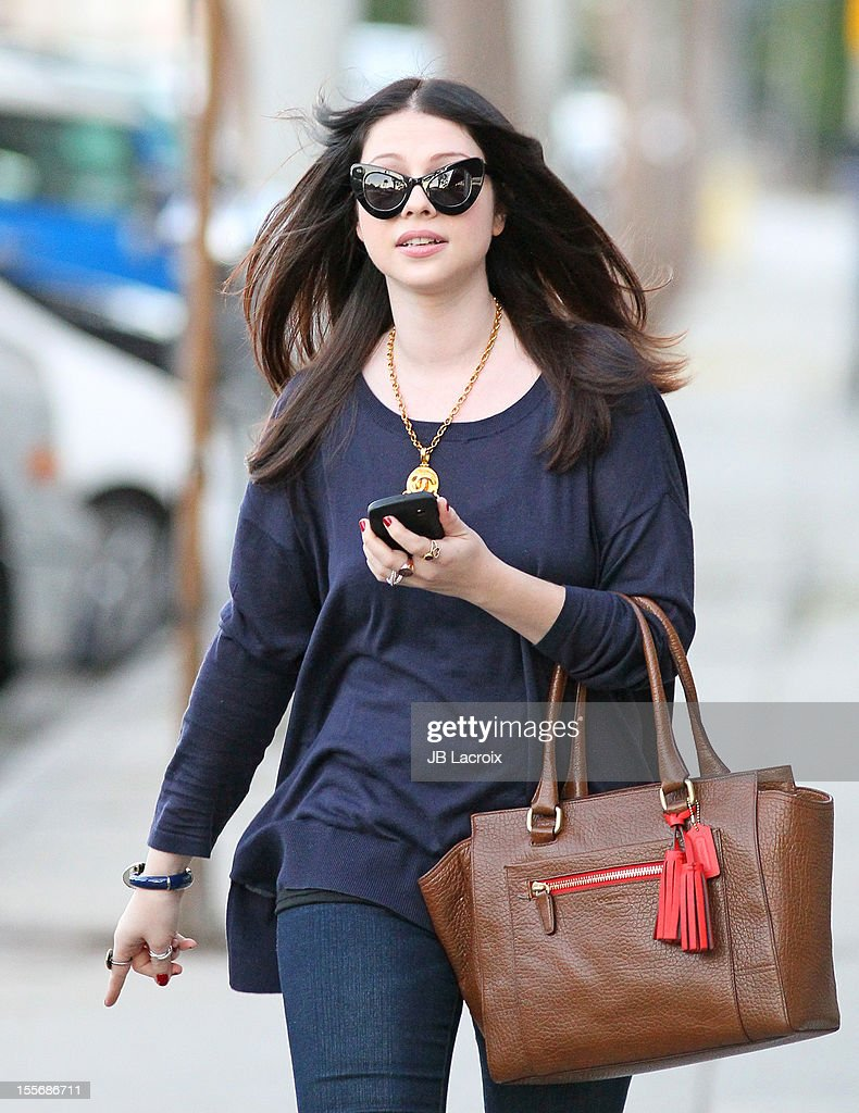 Michelle Trachtenberg is seen on November 6, 2012 in Los Angeles, California.
