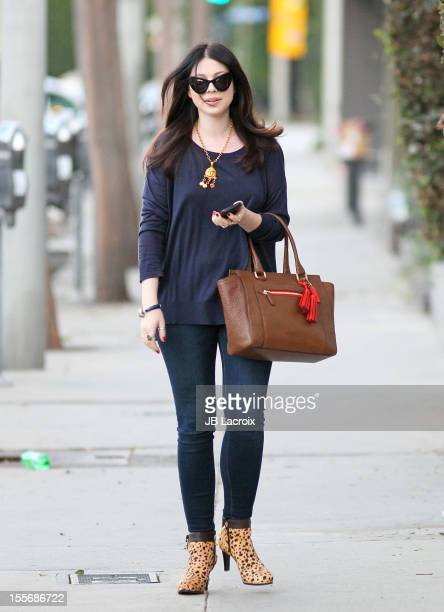 Michelle Trachtenberg is seen on November 6 2012 in Los Angeles California
