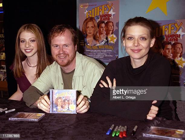 Michelle Trachtenberg Joss Whedon and Amber Benson
