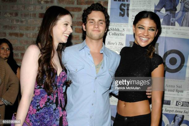 Michelle Trachtenberg Penn Badgley and Jessica Szohr attend Limited Edition ANNA SUI for TARGET 'Gossip Girl' Inspired Collection NYC Debut at 54...