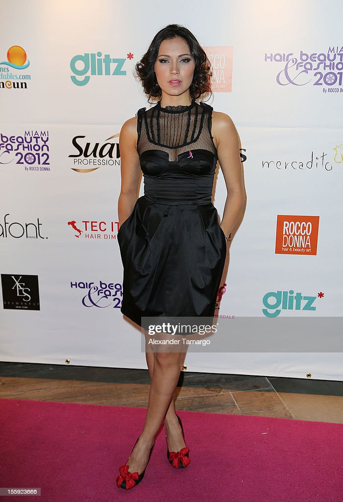 Michelle Vargas attends Miami Hair, Beauty & Fashion 2012 By Rocco Donna at Viceroy Hotel Spa on November 8, 2012 in Miami, Florida.