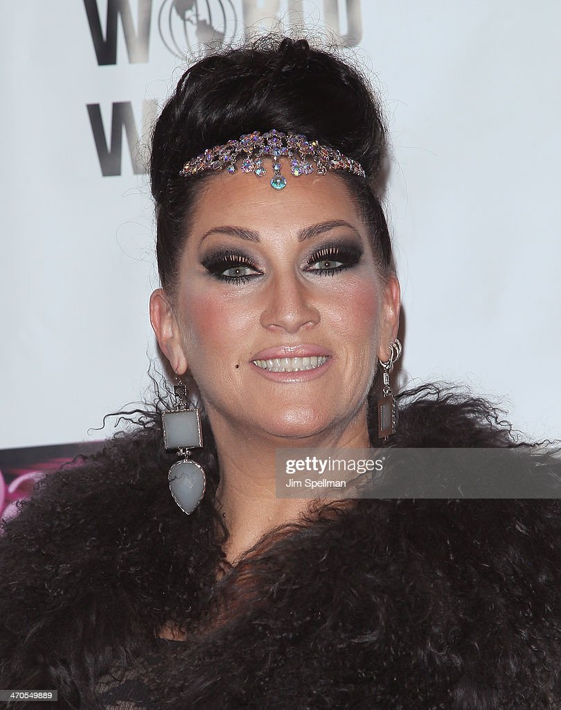 <a gi-track='captionPersonalityLinkClicked' href=/galleries/search?phrase=Michelle+Visage&family=editorial&specificpeople=7359421 ng-click='$event.stopPropagation()'>Michelle Visage</a> attends 'RuPaul's Drag Race' Season 6 Premiere Party at Stage 48 on February 19, 2014 in New York City.