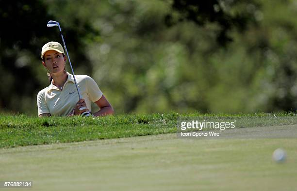 Michelle Wie chips onto the fifth green during the first round of the John Deere Classic at the TPC at Deere Run in Silvis Il The 15yearold shot a...