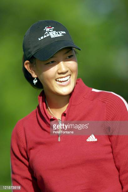 Michelle Wie competes during the third round of the Michelob Ultra Open May 8 2004