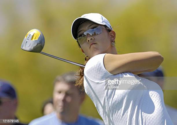 Michelle Wie during first round action at the Kraft Nabisco Championships at The Mission Hills Country Club in Rancho Mirage California on Thursday...