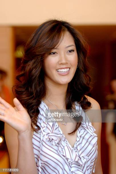 Michelle Wie during Omega Watches Welcomes Michelle Wie March 23 2006 at Omega Flagship Boutique in Beverly Hills California United States