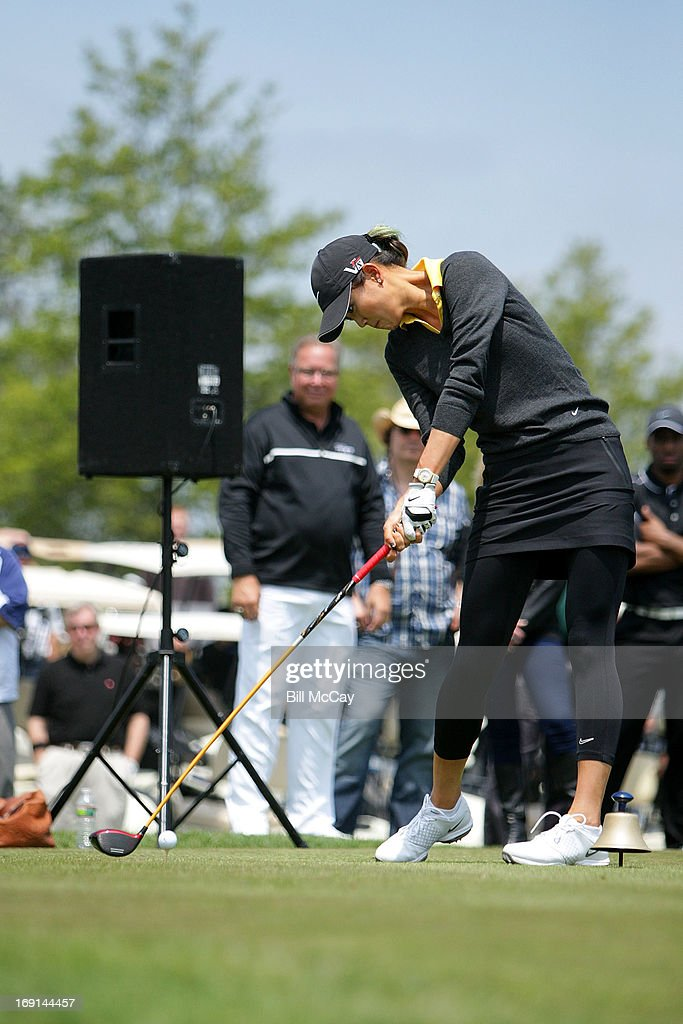 <a gi-track='captionPersonalityLinkClicked' href=/galleries/search?phrase=Michelle+Wie&family=editorial&specificpeople=201982 ng-click='$event.stopPropagation()'>Michelle Wie</a>, LPGA Professional, attend the Ron Jaworski's Celebrity Golf Challenge May 20, 2013 at Atlantic City Country Club in Northfield, New Jersey.